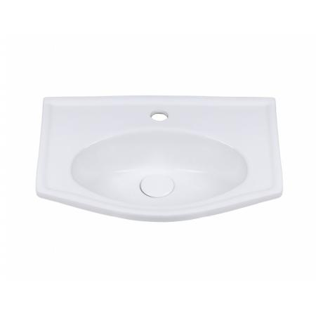 Legersen Tenax Umywalka wpuszczana 51,5x37,5 cm biała LEUM405
