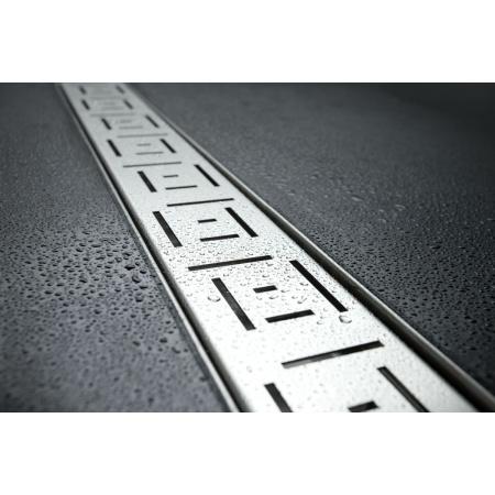 Lorac Cube Odpływ liniowy 50 cm, stal nierdzewna OL-C50