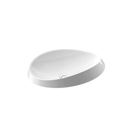 Marmorin Alice III Umywalka wpuszczana w blat, biała PU002030600