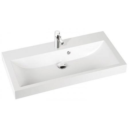 Marmorin Argo Umywalka z otworem 100x50 cm, biała PU005011000
