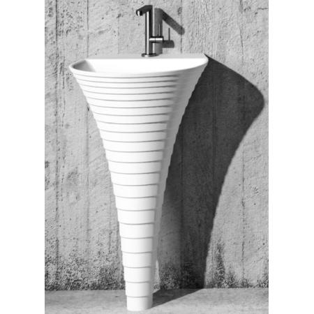 Marmorin Cascada Umywalka wolnostojąca 48x46,8 cm biała PS013020468