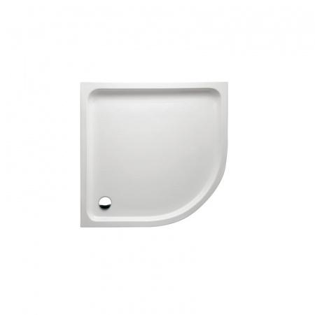 Marmorin Ceti 90 Brodzik półokrągły 90x90x55cm, biały PB014040900
