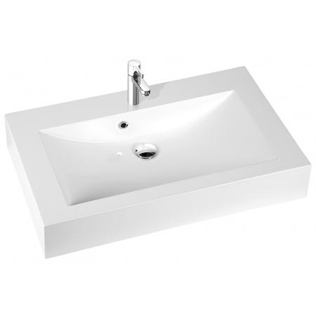 Marmorin Ceto 90 Umywalka z otworem 90x55 cm, biała PU015030900