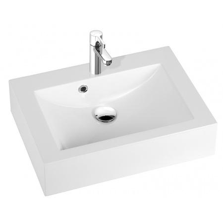 Marmorin Ceto Umywalka z otworem 80x43 cm, biała PU015020800