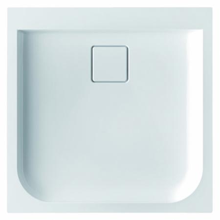 Marmorin Dione Brodzik 90x90 cm, biały PB021020900
