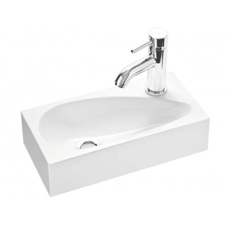 Marmorin Elara 1 umywalka mała z otworem 40cm kolor biały PU026010400