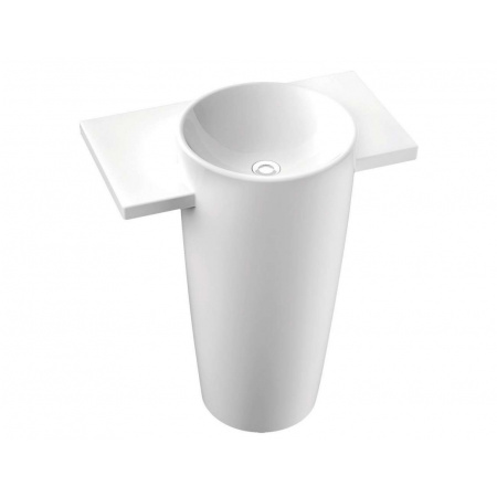 Marmorin Febe Umywalka wolnostojąca 90x50 cm biała PS032010900