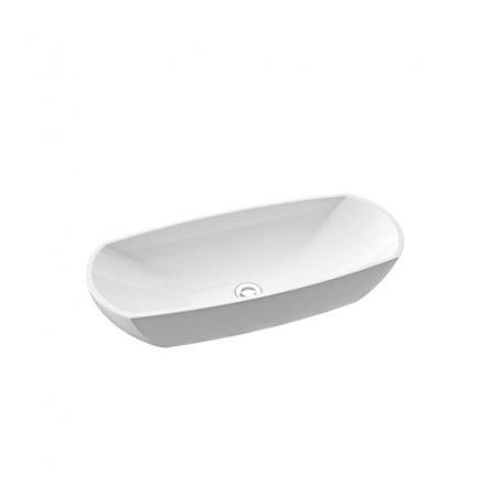 Marmorin Isar II Umywalka nablatowa, biała PU039020800