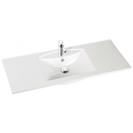 Marmorin Larissa 120 umywalka z otworem 120cm kolor biały PU051051200