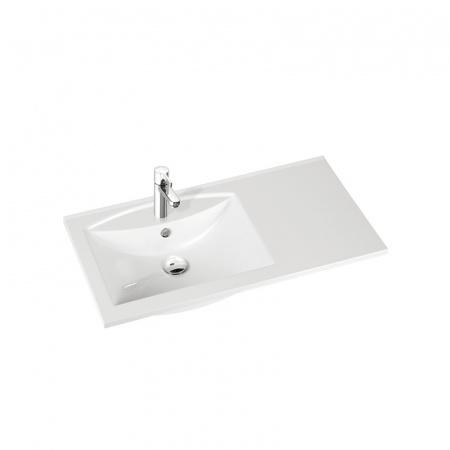 Marmorin Larissa 90 umywalka lewa z otworem 90cm kolor biały PU051030900