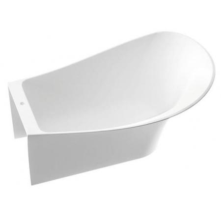 Marmorin Misa Wanna przyścienna prawa 155,3x91,6x60 cm, biała PW057031553