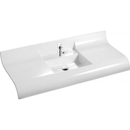 Marmorin Onda umywalka z otworem 120cm kolor biały 330 120 022 011