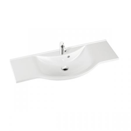 Marmorin Pamona 121 umywalka z otworem 121cm kolor biały 320 121 022 011