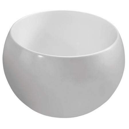 Marmorin Perła Umywalka okrągła bez otworu 40x40 cm, biała PU069010400