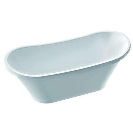 Marmorin Pia wanna wolnostojąca 160x65 cm, biała PW070051607