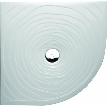 Marmorin Rosa Brodzik półokrągły płaski 90x90 kolor biały PB073030900