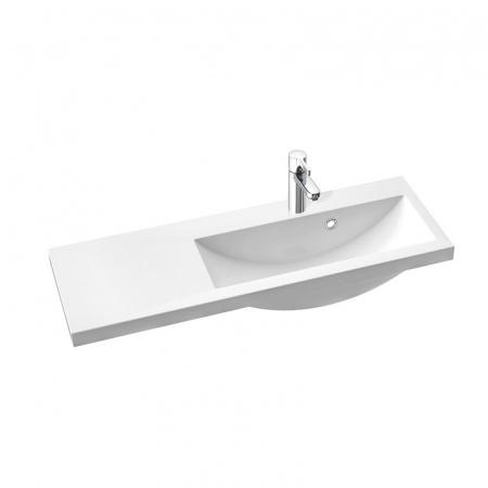 Marmorin Talia 90 umywalka prawa z otworem 90cm kolor biały PU078030900