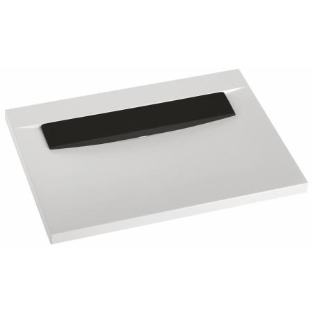 Marmorin Tatoo Umywalka nablatowa z czarną płytką 70 cm, biała PU081020705