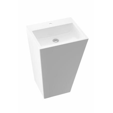 Marmorin Tebe 700 Umywalka wolnostojąca 70x50 cm biała PS082020700