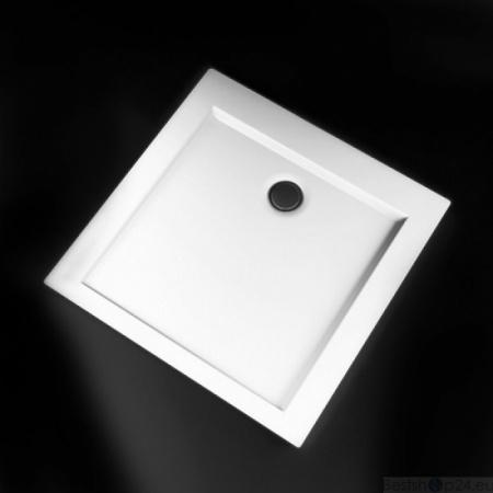 Marmorin Tebe Brodzik kwadratowy płaski 90x90 cm, biały P530090200