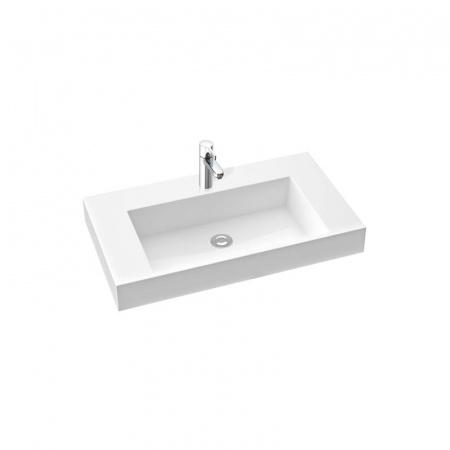 Marmorin Teo 800 Umywalka wpuszczana w blat 80x45cm, biała PU083030800