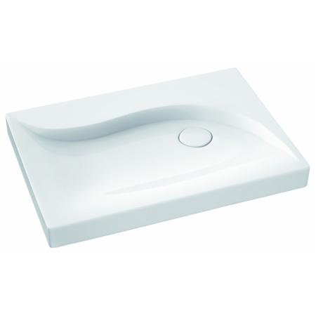 Marmorin Vala Umywalka nablatowa 70,5x50,5 cm, biała 510071020010