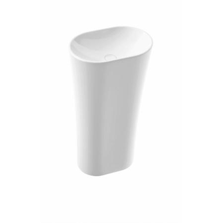 Marmorin Wega 440 Umywalka wolnostojąca 44x30,5 cm biała PS100010440