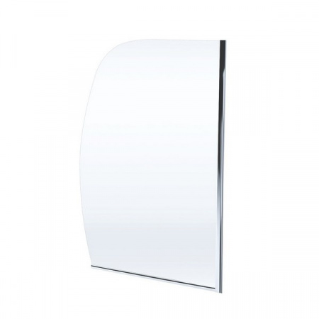Massi Arco Parawan nawannowy 80x140 cm z powłoką Easy Clean, profile chrom szkło przezroczyste MSKP-FA657