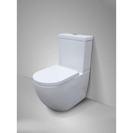 Massi Decos Duro Toaleta WC kompaktowa 38x68x81 cm, biała MSK-2673ADU