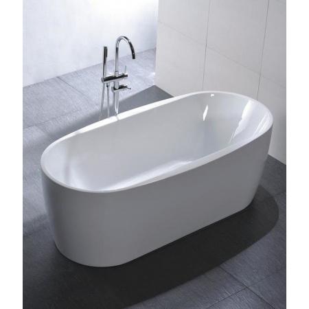 Massi Elegant 150 Wanna wolnostojąca 150x75x60 cm, biała MSWA-822150