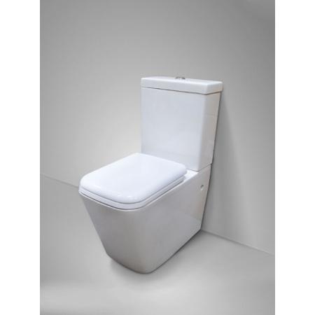 Massi Tringo Duro Toaleta WC kompaktowa 37x67x83 cm, biała MSK-2208ADU