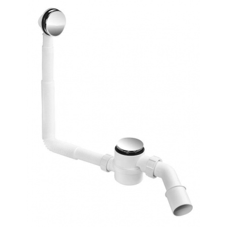 McAlpine Syfon klik klak wannowo/brodzikowy czyszczony od góry chrom HC2600CL
