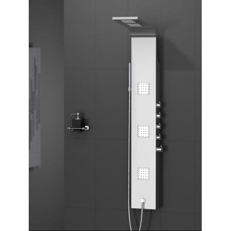 New Trendy Aquos Panel prysznicowy 158x22x8,5 cm, chrom EXP-0002