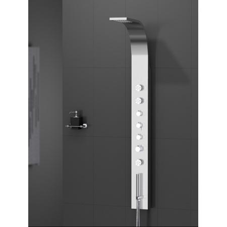 New Trendy Aquos Panel prysznicowy 165x15x7 cm, chrom EXP-0003