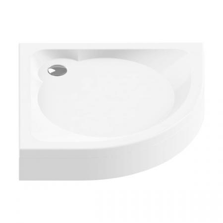 New Trendy Cantare Brodzik półokrągły 90x90x18,5 cm, biały B-0228