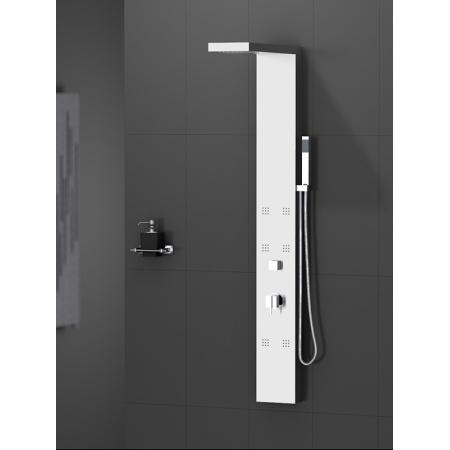 New Trendy Torus Panel prysznicowy 153,5x18x7,5 cm, chrom EXP-0006