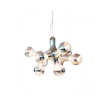 Next DNA chandelier Lampa wisząca 40x30 cm IP20, miedziana 1033-05-7501