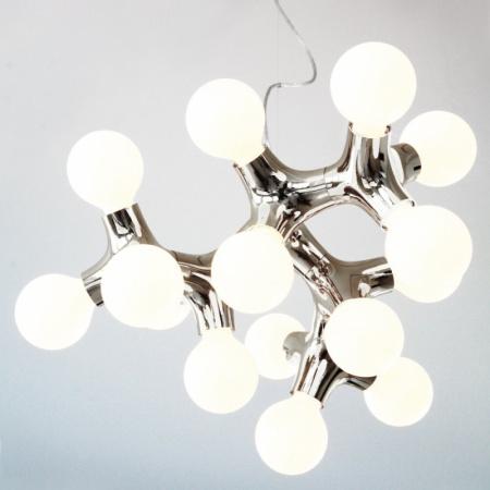 Next DNA chandelier XL Lampa wisząca 60x40 cm IP20, biała 1033-07-0101