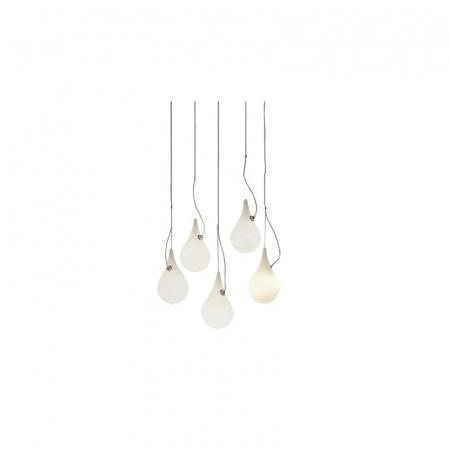 Next Drop 2 xs 5 Mini Liquid Light Lampa wisząca IP40, biała 1017-28-0201