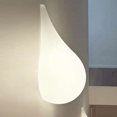 Next Drop 3 small Liquid Light Kinkiet 20x47,5 cm IP40, biały 1017-31-0301