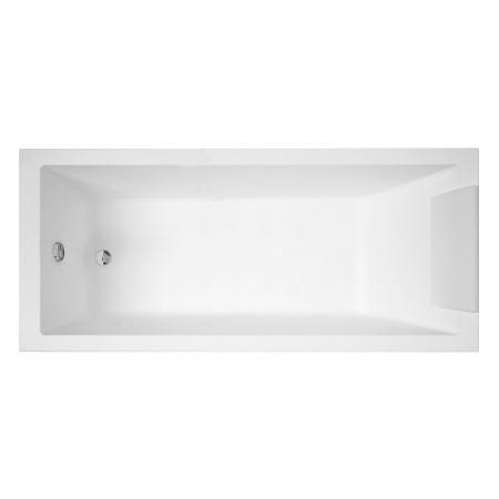 Novellini Calos Wanna prostokątna 170x75 cm + Nóżki + Syfon GRATIS biała CA1117075-A