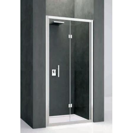 Novellini Kali Drzwi prysznicowe składane 75-81x195 cm + środek czyszczący GRATIS KALIS75-1B