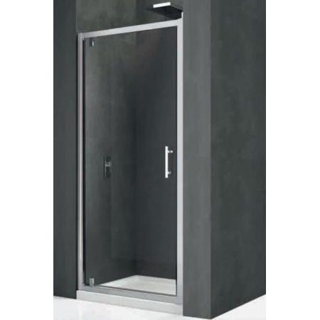 Novellini Kali Drzwi prysznicowe uchylne 76-82x195 cm + środek czyszczący GRATIS KALIG76-1B