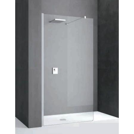 Novellini Kali Ścianka prysznicowa Walk-in 77-80x195 cm + środek czyszczący GRATIS KALIH80-1B
