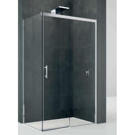Novellini Kali Ścianka stała do drzwi prysznicowych 78-79,5x195 cm + środek czyszczący GRATIS KALIFH78-1B