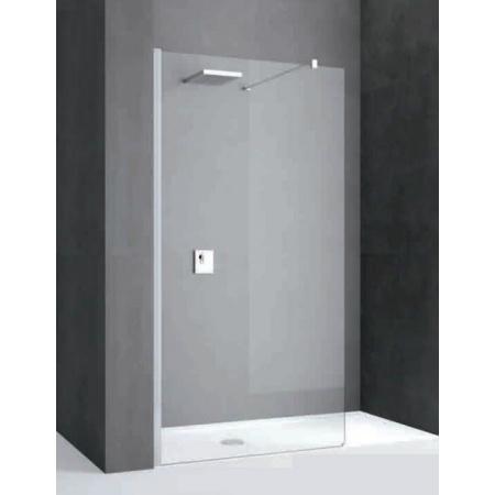 Novellini Kali Ścianka prysznicowa Walk-in 87-90x195 cm + środek czyszczący GRATIS KALIH90-1B