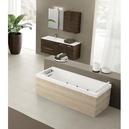 Novellini Sense 4 Dynamic Plus Wanna prostokątna 170x70x62 cm bez obudowy, biała błyszcząca SE4N17070T6-A0KA