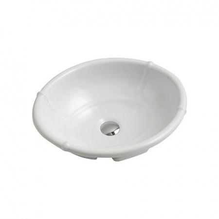 Olympia Ceramica Impero Umywalka wpuszczana w blat 49x40 cm, biała IMP4650001