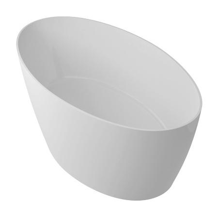 Omnires Marble+ Siena Wanna wolnostojąca 160,5x80,5x60 cm, biała SIENAWW