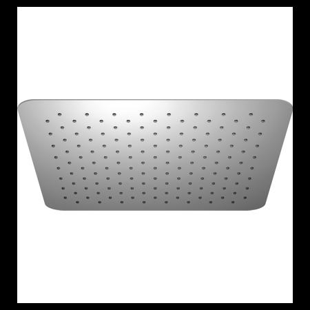 Omnires Ultra SlimLine Deszczownica prostokątna 40x40 cm, chrom WGU240